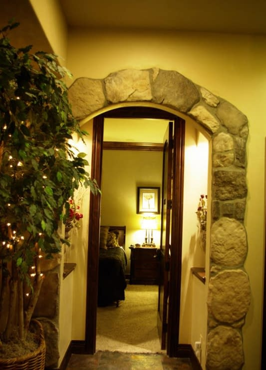 This is Master's entry way.