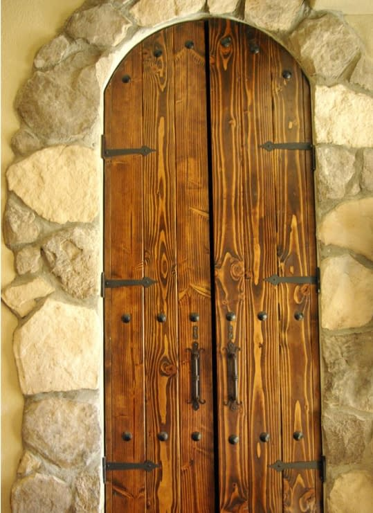 This is King's bathroom door.