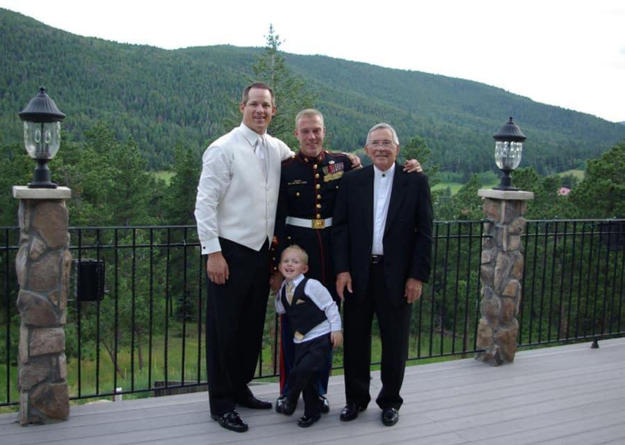 Arrowhead Bnb held this grooms family.