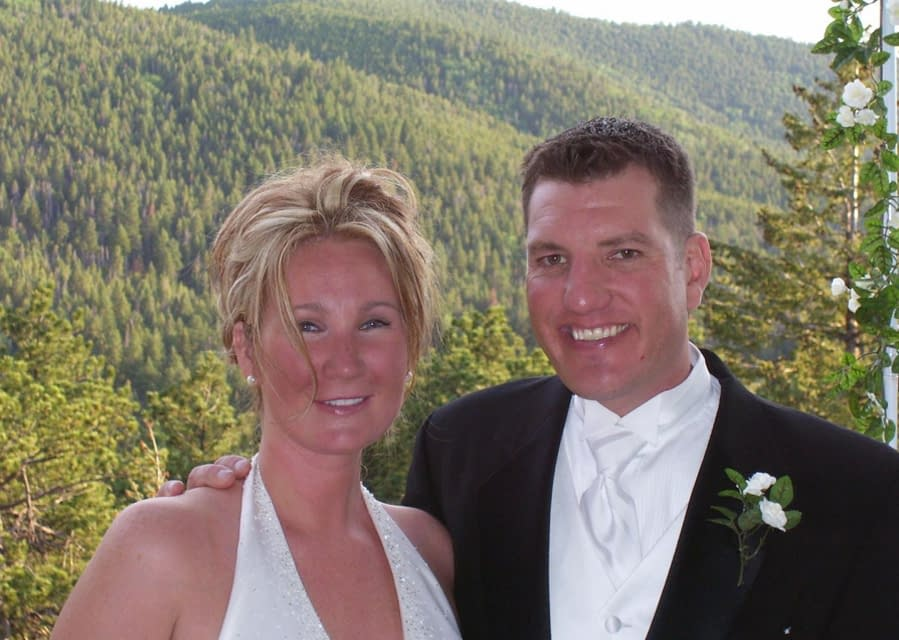 Our first marriage ceremony at Arrowhead!