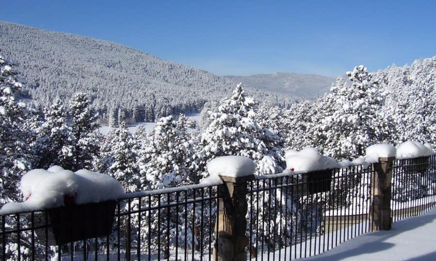 Winter wonderland at Arrowhead!