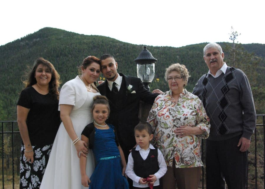 We hold weddings with families too.